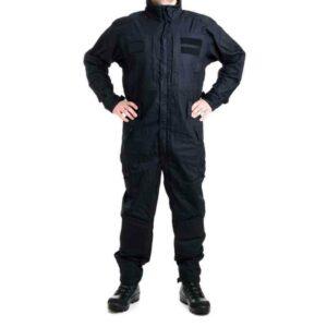 Celoroční černá policejní kombinéza - Nový typ