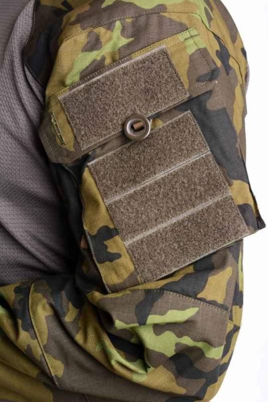 Taktická košile UBACS vzor 95 AČR, ZELENÁ Rip-Stop