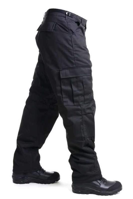 Kalhoty SECURITY černé zateplené MFH Max Fuchs AG