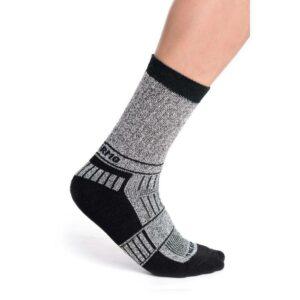 Ponožky termo šedo-černé Treking