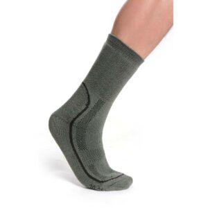 Ponožky termo zelené