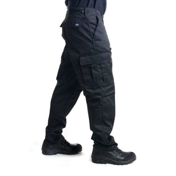 Kalhoty US střih BDU ČERNÉ SECURITY MFH Max Fuchs AG