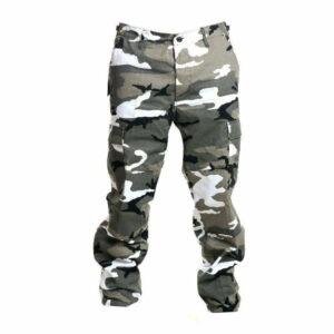 Kalhoty bojové US střih BDU prošité METRO-URBAN MAX FUCHS AG MFH