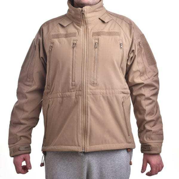 Softshellová bunda Plus COYOTE BROWN MIL-TEC_DSC_5205