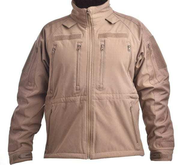 Softshellová bunda Plus COYOTE BROWN MIL-TEC_DSC_5205a