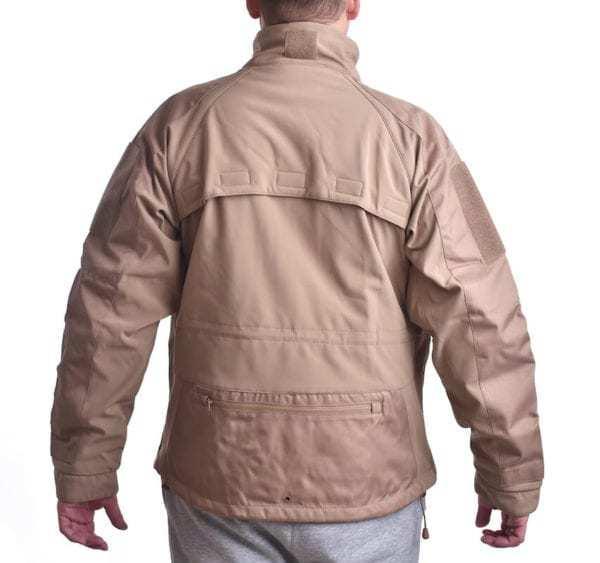 Softshellová bunda Plus COYOTE BROWN MIL-TEC_DSC_5206