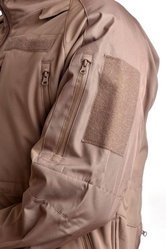 Softshellová bunda Plus COYOTE BROWN MIL-TEC_DSC_5207
