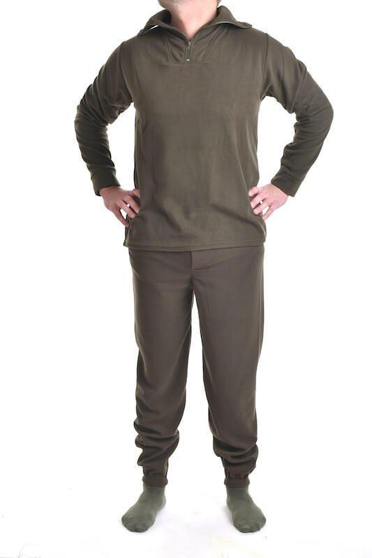 Thermo fleecové spodní prádlo oliva MIL-TEC_DSC_5455