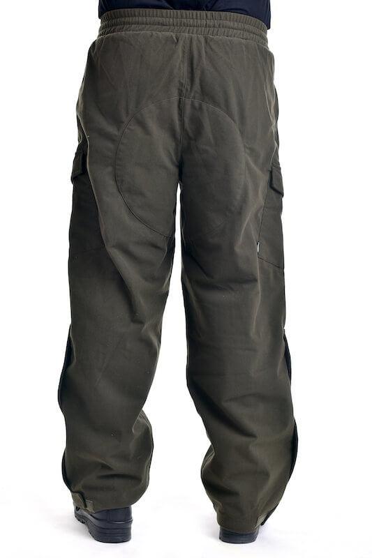 Kalhoty lovecké POLY TRICOT zelené MAX FUCHS_DSC_5453