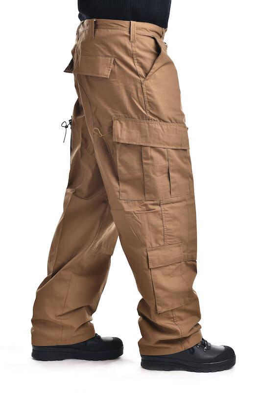 Kalhoty multifunkční odepínací z multivlákna khaki Fox Outdoor_DSC_6502