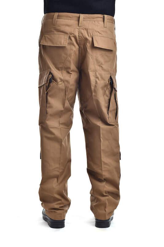 Kalhoty multifunkční odepínací z multivlákna khaki Fox Outdoor_DSC_6503